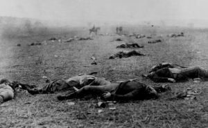 Gettysburg, a three-day battle, was had the most casualties of any Civil War battle.